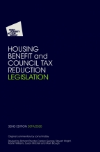 Housing Benefit and Council Tax Reduction Legislation