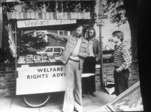 Welfare rights stall