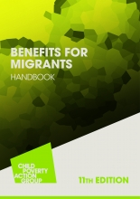Book cover Benefits for Migrants Handbook