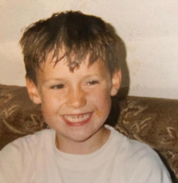Dave childhood photo