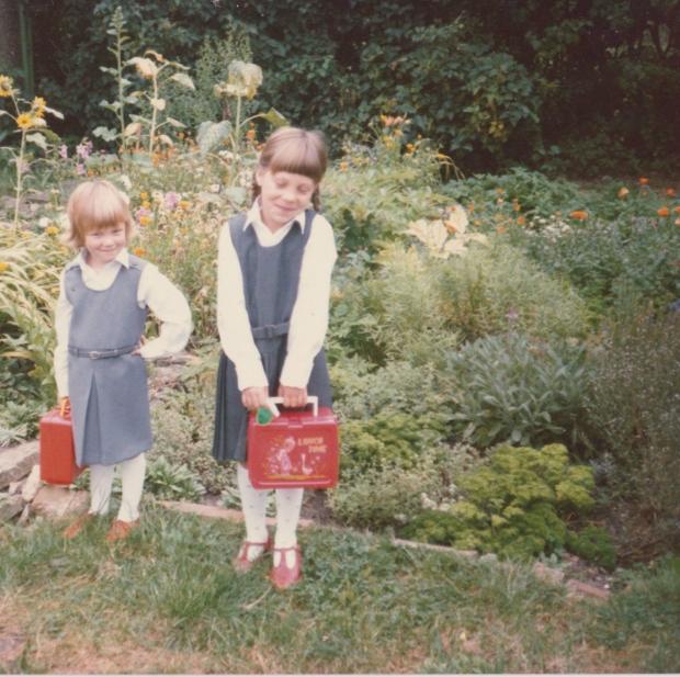 Ellie childhood photo