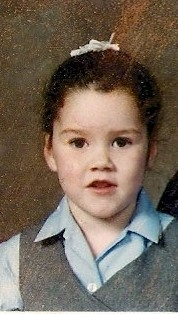 Francesca Hogg childhood photo