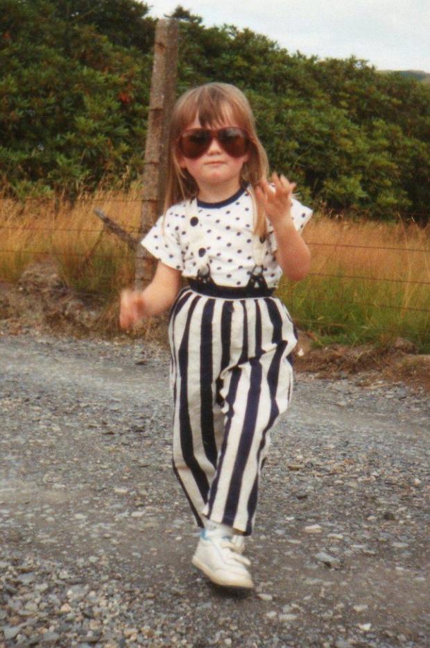Kathryn childhood photo