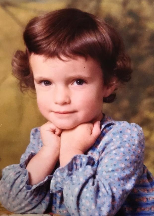 Kirsty S childhood photo