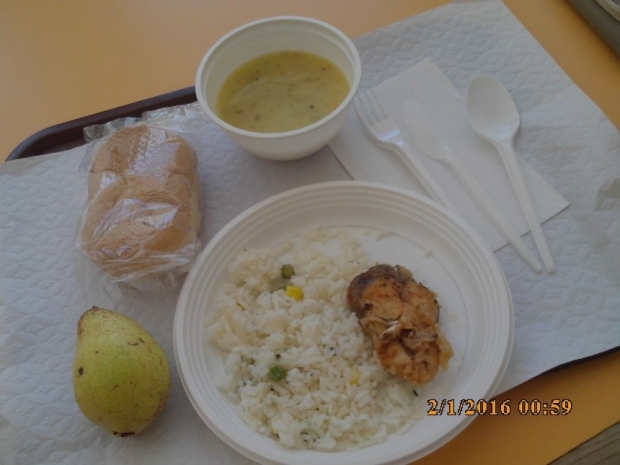 Photo of school meal