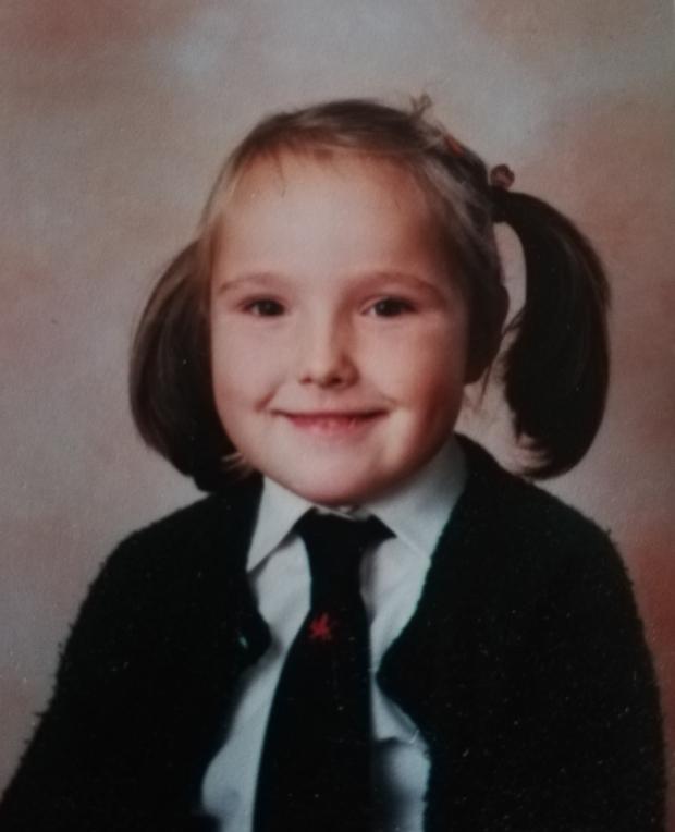 Rhian childhood photo
