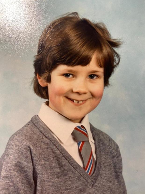 Sara childhood photo