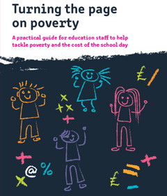 Turning the page on poverty cover