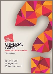 Universal credit guide front cover