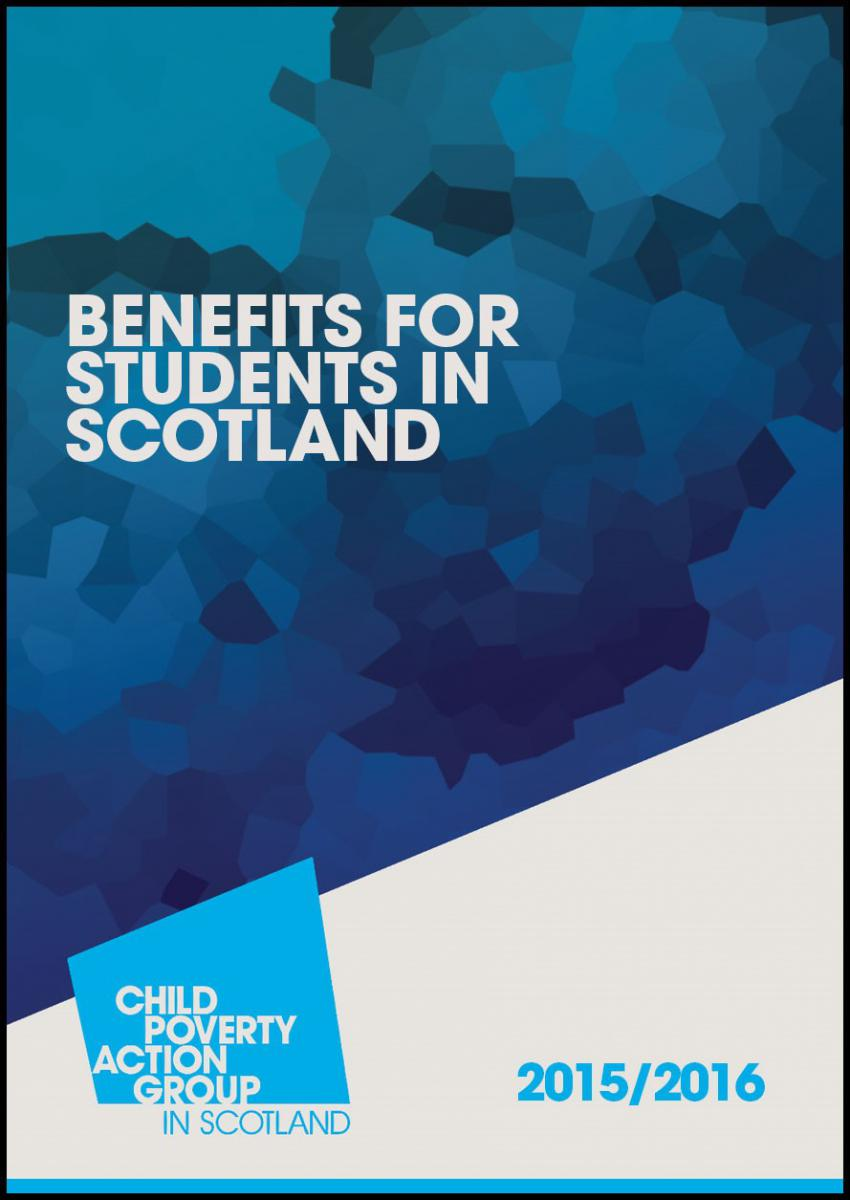 Benefits for students in Scotland Handbook