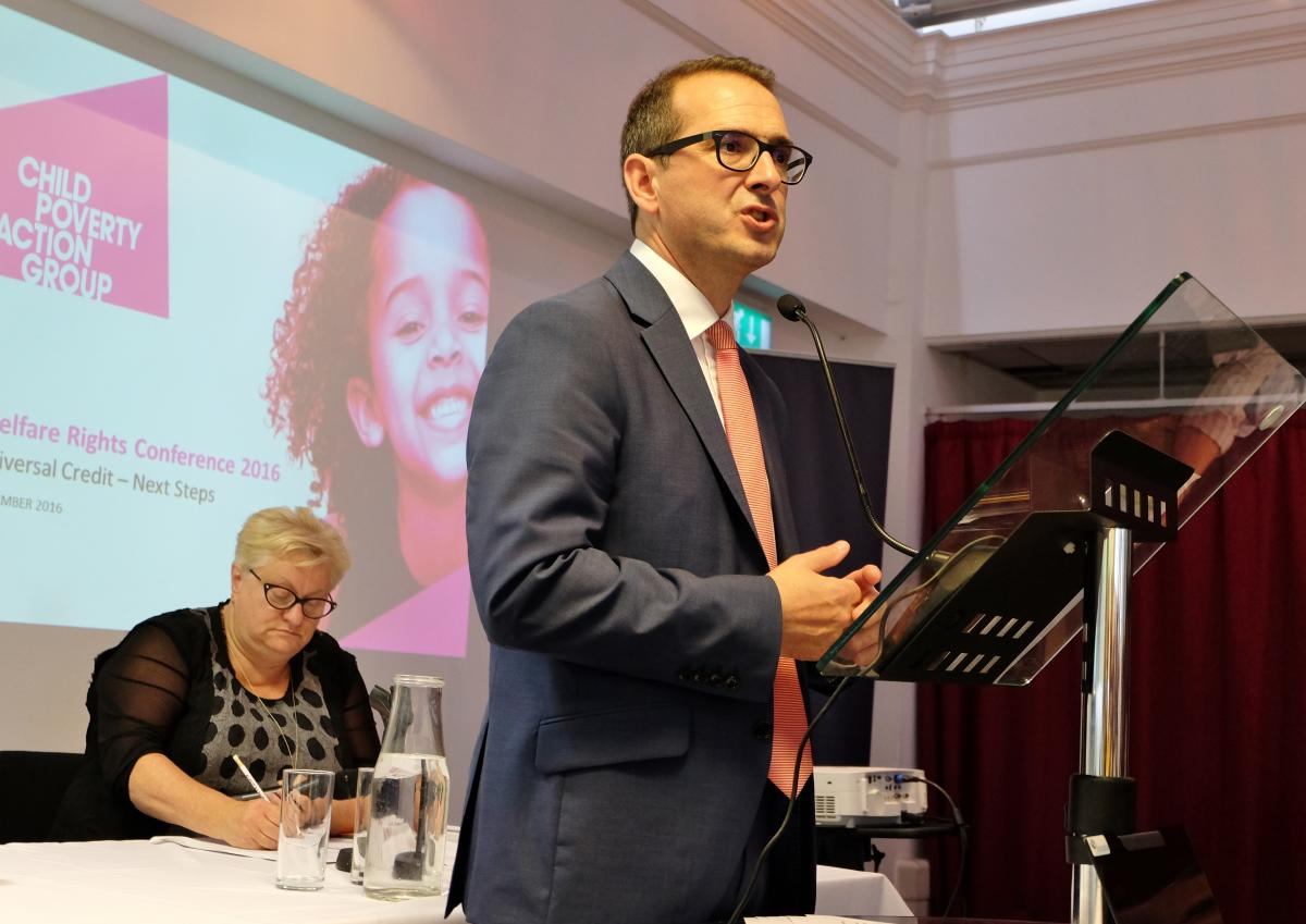 Owen Smith at CPAG Welfare Rights Conference