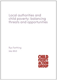 Local authorities and child poverty cover