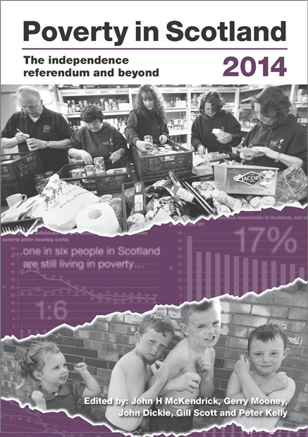 Poverty in Scotland 2014 cover