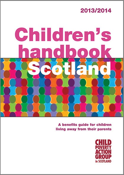 Children's Handbook Scotland cover