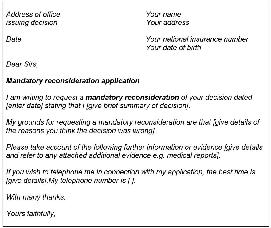 How do you apply for a MR? | CPAG
