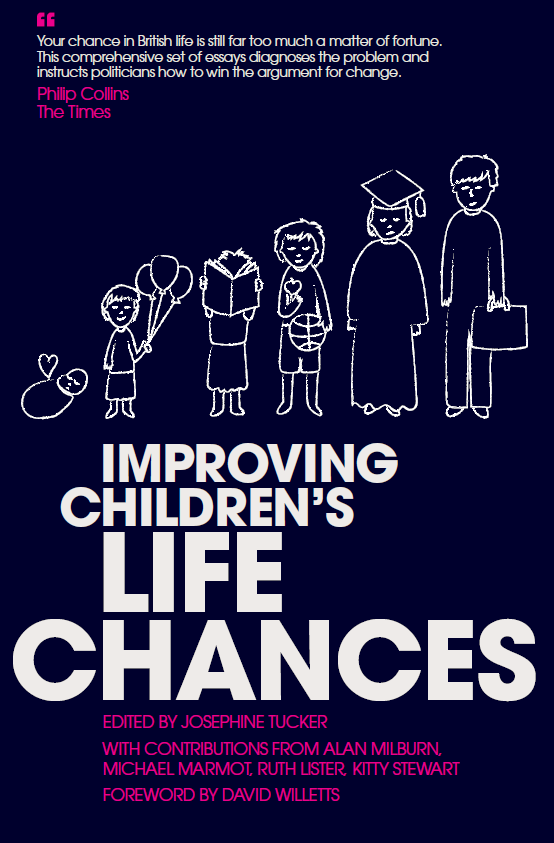 Improving children's life chances - book cover