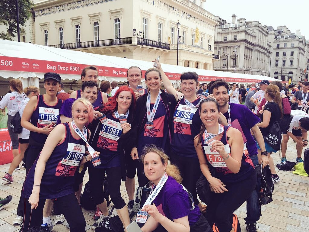 Lace up your trainers and join CPAG's British 10K team!
